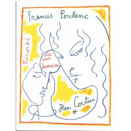 Poulenc, Francis. La Voix Humaine (Voz/Piano)