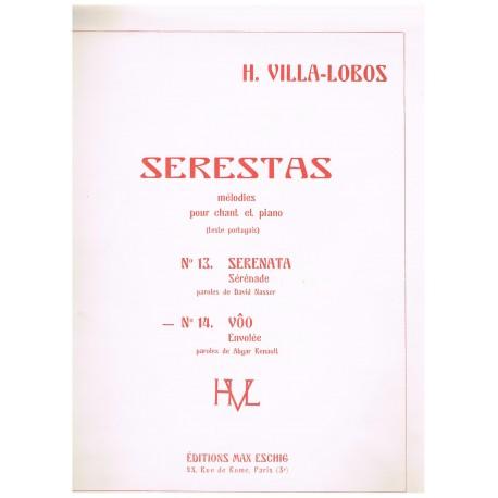 Villa-Lobos, Heitor. Serestas Nº14. Envolee (Voz/Piano)