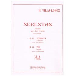 Villa-Lobos, Heitor. Serestas Nº13. Serenata (Voz/Piano)