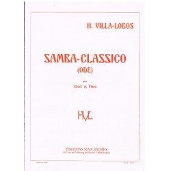 Villa-Lobos, Heitor. Samba-Classico . Ode (Voz/Piano)