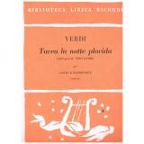 Verdi, Giuseppe. Tacea la Notte Placida (IL Trovatore) (Voz Soprano/Piano)