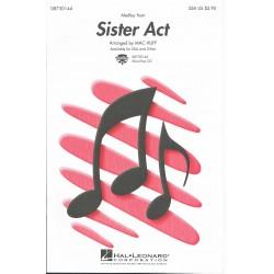 Varios. Sister Act Medley (2 Voces Soprano/Alto/Piano)