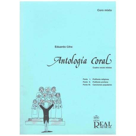Cifre, Eduardo. Antología Coral (Cuatro Voces Mixtas)