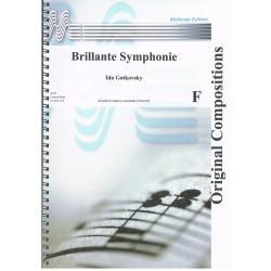 Gotkovsky, Ida. Brillante Symphonie. Concert Band (Full Score)