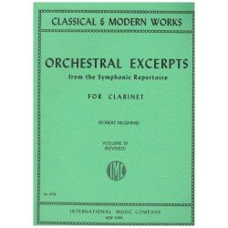 Varios. Orchestral Excerpts Vol.IV (Clarinete)
