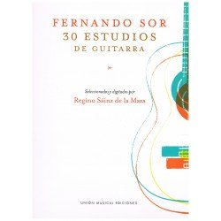 Sor, Fernando. 30 Estudios (Guitarra)