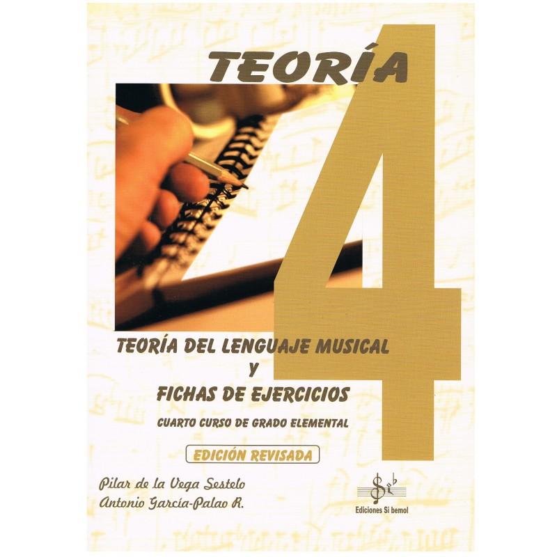 Vega/García. Teoría del Lenguaje Musical y Fichas de Ejercicios. 4º Grado Elemental