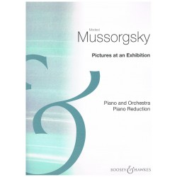 Moussorgsky, Modest. Cuadros de una Exposición (Dos Pianos)
