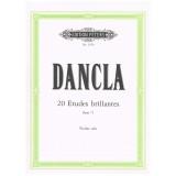 Dancla, Charles. 20 Estudios Brillantes Op.73 (Violín)