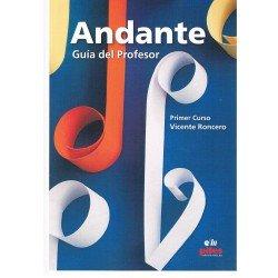 Roncero, Vicente. Andante Primer Curso. Guía del Profesor