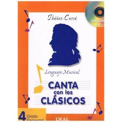 Ibañez-Cursá. Lenguaje Musical. Canta con los Clásicos 4 Grado Elemental