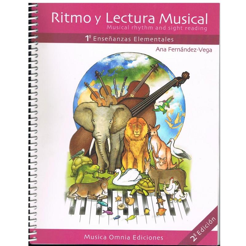 Fernández-Vega, Ana. Ritmo y Lectura Musical. 1º Enseñanzas Elementales