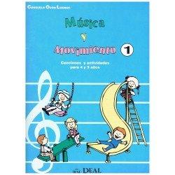 Ocón Luengo. Música y Movimiento 1. Canciones y Actividades para 4 y 5 años