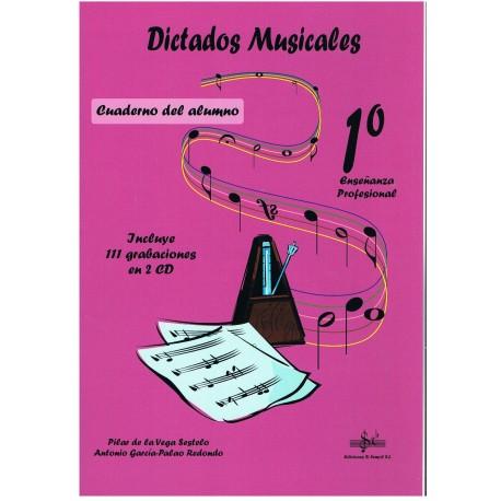 Vega/García. Dictados Musicales 1º Enseñanza Profesional. Alumno