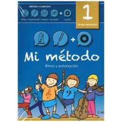Varios. Mi Método 1. Lenguaje Musical. Grado Elemental