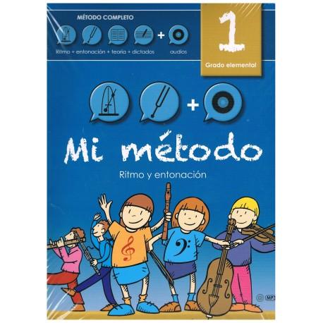 Mi Método 1 Lenguaje Musical Grado Elemental