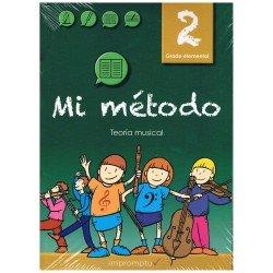 Varios. Mi Método 2. Lenguaje Musical. Grado Elemental