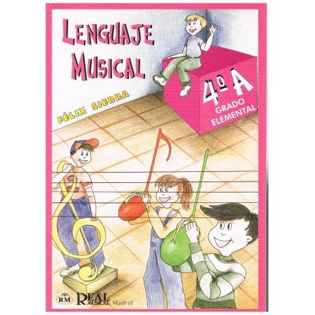 Sierra, Félix. Lenguaje Musical 4ºA Grado Elemental