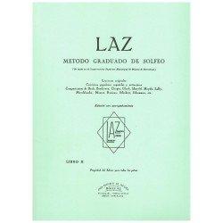Varios. LAZ Método Graduado de Solfeo Vol.2 con Acompañamiento de Piano