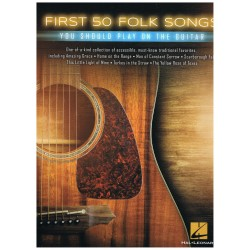 Varios. First 50 Folk Songs you should you play on the guitar