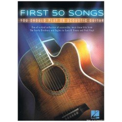 Varios. First 50 Songs you should play on acoustic guitar
