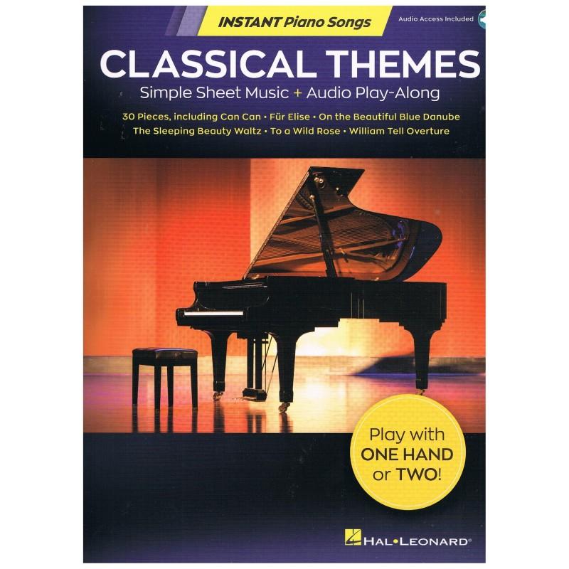 Varios. Classical Themes (Piano Facil 1 o 2 manos) +Audio Access.