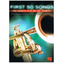 Varios. First 50 Songs you should play on the trumpet.