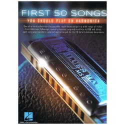 Varios. First 50 Songs you should play on armonica.