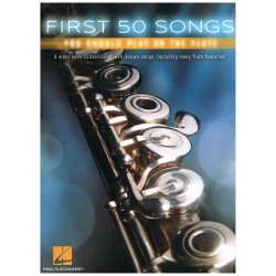 Varios. First 50 Songs you should play on the flute