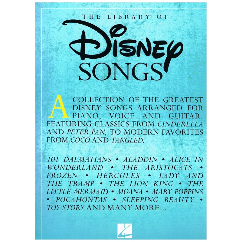 Disney. The Library of Disney Songs (PVG)