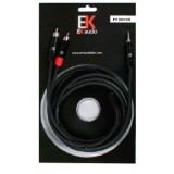 Cable EK audio mini JACK RCA 15m