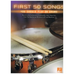 Varios. First 50 Songs you should play on drums