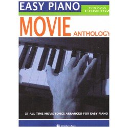 Concina, Franco. Easy Piano. Movie Anthology