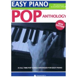Concina, Franco. Easy Piano. Pop Anthology