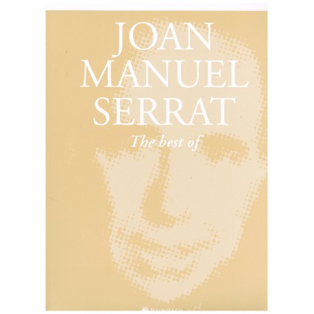 Serrat, Joan Manuel. The Best of Joan Manuel Serrat (Piano/Voz/Guitarra)