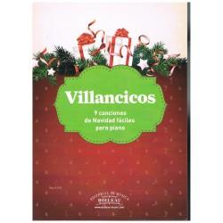Varios. Villancicos. 9 Canciones de Navidad Fáciles para Piano