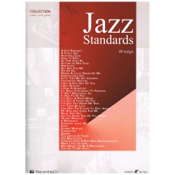 Varios. Jazz Standards. 40 Songs (Piano/Voz/Guitarra)