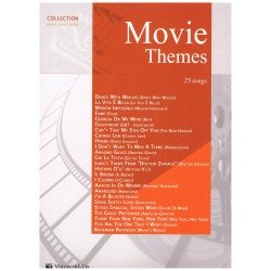 Varios. Movie Themes. 25 Songs (Piano/Voz/Guitarra)