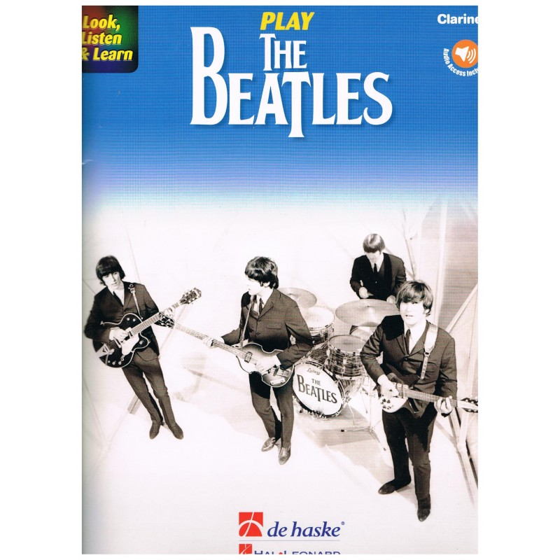 Beatles. Play The Beatles (Clarinete) +Audio Access