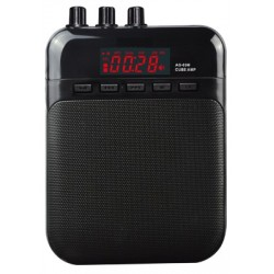 MINI AMPLIFICADOR AG 03 EK audio RECARGABLE CON MICRO