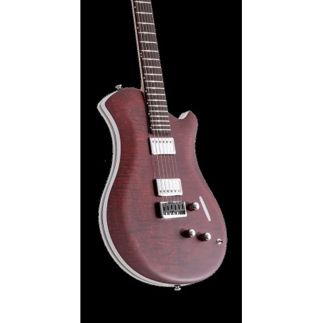 GUITARRA ELECTRICA RELISH MARY MA14P BORDEAUX FLAMED MAPLE