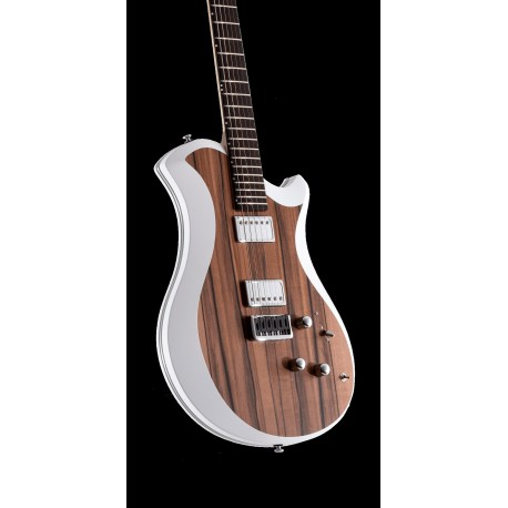 GUITARRA ELECTRICA RELISH MARY ONE 018 TINEO SNOW EDGE