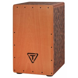 CAJON TYCOON SUPREMO SELECT.STKS-29 CO. CHISELED ORANGE