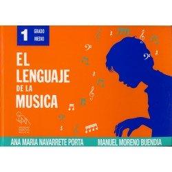 Navarrete. El Lenguaje de la Musica 1 Grado Medio