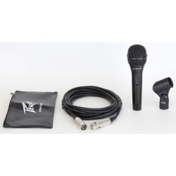 Peavey pvi 2 black microphone xlr cable