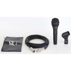 pvregi 2 black microphone xlr cable