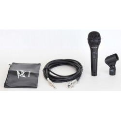 Peavey pvi 2 black microphone 1 4 cable