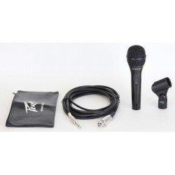 pvregi 2 black microphone 1 4 cable