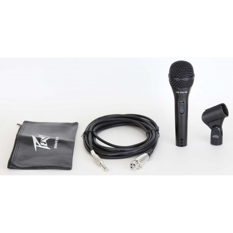 pvregi 2 black microphone 1 4 cable