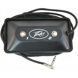6505 peavey footswitch multi purpose 2 button led